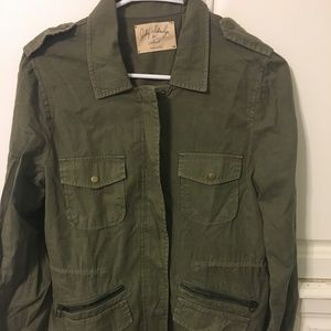 NEVER WORN Green jacket size Small by Velvet